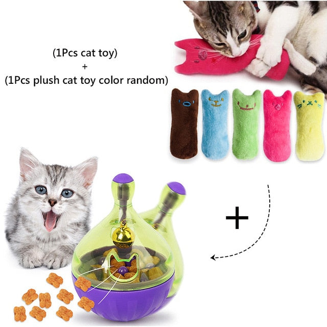 Assorted Cat IQ Toys! Treat Ball Smart Food Dispenser, Rope Balls, Mice, Fish and Bird Toys! 10 | CatToyz.com | Shop Cat Toys, Clothes, and Grooming Supplies