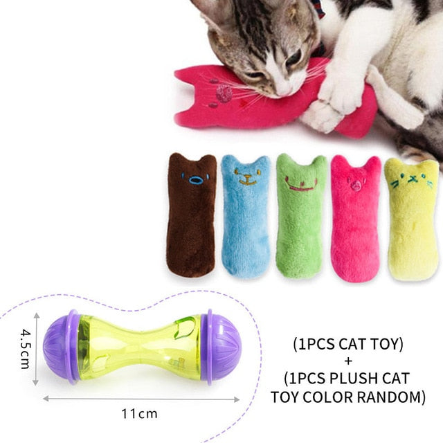 Assorted Cat IQ Toys! Treat Ball Smart Food Dispenser, Rope Balls, Mice, Fish and Bird Toys! 9 | CatToyz.com | Shop Cat Toys, Clothes, and Grooming Supplies