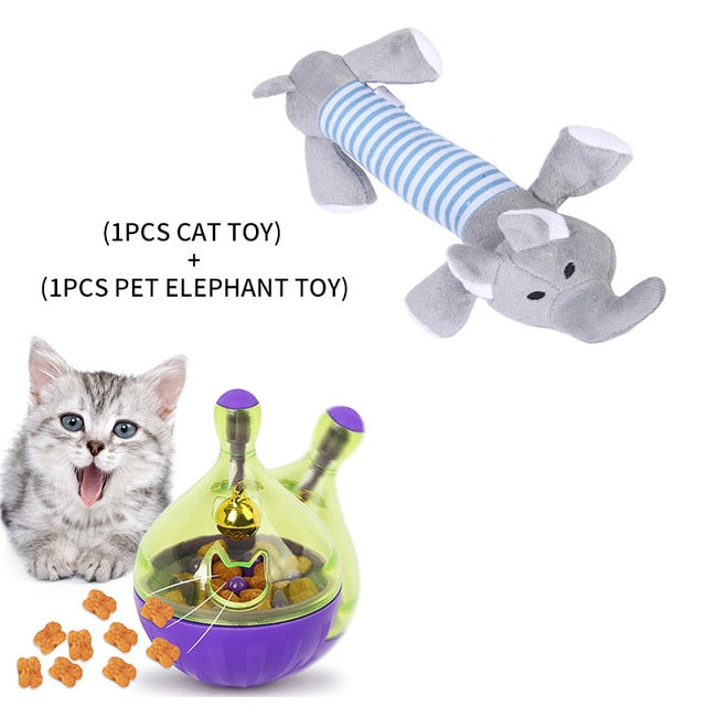 Assorted Cat IQ Toys! Treat Ball Smart Food Dispenser, Rope Balls, Mice, Fish and Bird Toys! 6 | CatToyz.com | Shop Cat Toys, Clothes, and Grooming Supplies
