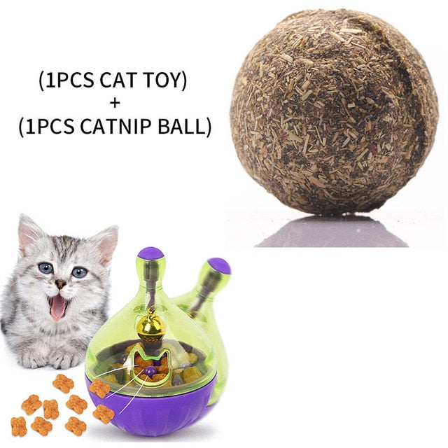 Assorted Cat IQ Toys! Treat Ball Smart Food Dispenser, Rope Balls, Mice, Fish and Bird Toys! 7 | CatToyz.com | Shop Cat Toys, Clothes, and Grooming Supplies
