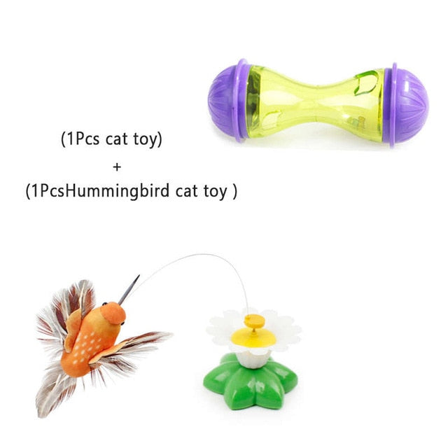 Assorted Cat IQ Toys! Treat Ball Smart Food Dispenser, Rope Balls, Mice, Fish and Bird Toys! 11 | CatToyz.com | Shop Cat Toys, Clothes, and Grooming Supplies