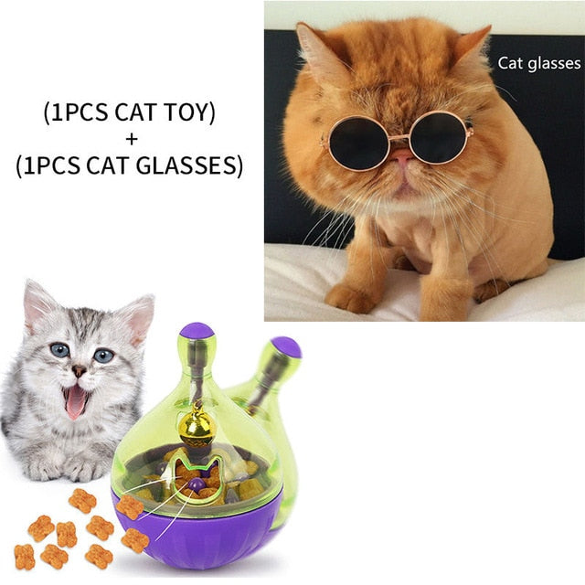 Assorted Cat IQ Toys! Treat Ball Smart Food Dispenser, Rope Balls, Mice, Fish and Bird Toys! 12 | CatToyz.com | Shop Cat Toys, Clothes, and Grooming Supplies