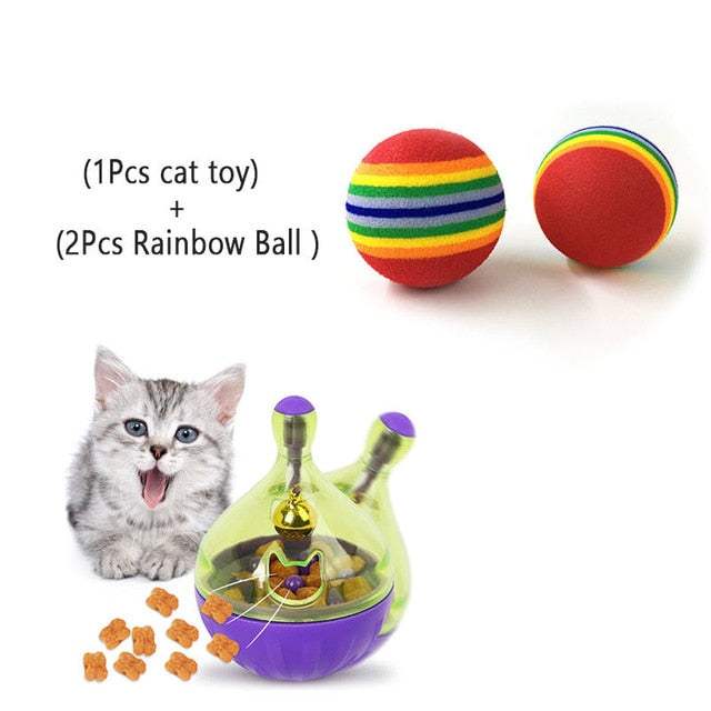 Assorted Cat IQ Toys! Treat Ball Smart Food Dispenser, Rope Balls, Mice, Fish and Bird Toys! 13 | CatToyz.com | Shop Cat Toys, Clothes, and Grooming Supplies