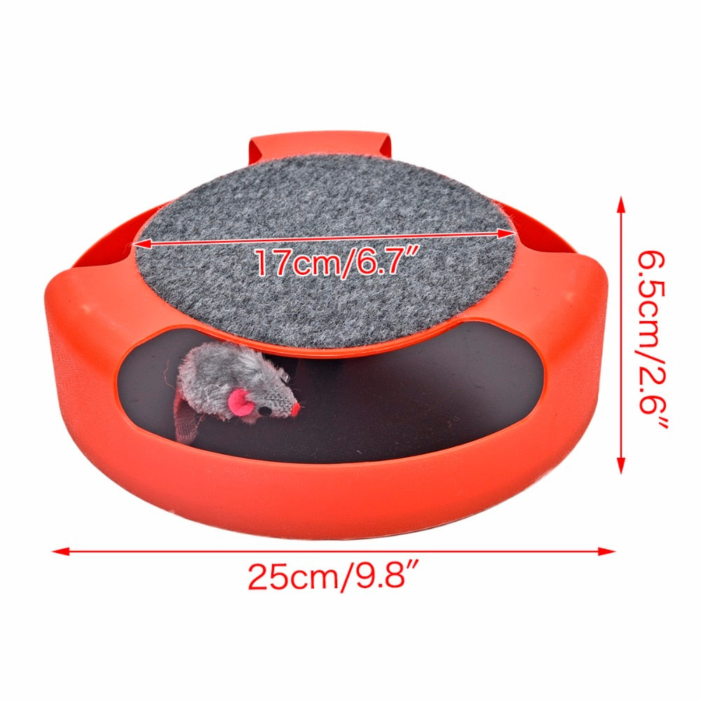 Interactive Mouse Chasing Toy! Red / M | CatToyz.com | Shop Cat Toys, Clothes, and Grooming Supplies