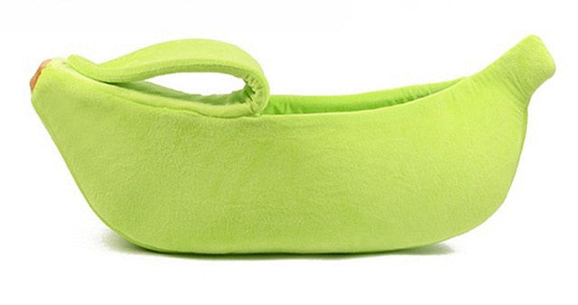 Banana Peel Cat Beds Green / L | CatToyz.com | Shop Cat Toys, Clothes, and Grooming Supplies