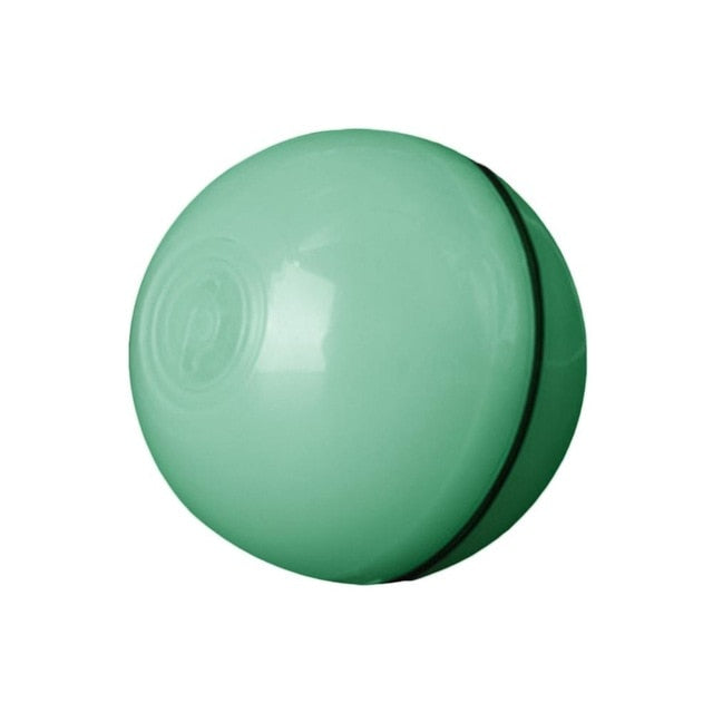 Interactive Robotic Cat Ball!! Green / China | CatToyz.com | Shop Cat Toys, Clothes, and Grooming Supplies