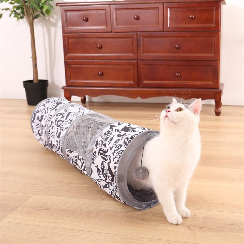 Collapsible Cat Tunnels 3 Sizes to Choose From!  | CatToyz.com | Shop Cat Toys, Clothes, and Grooming Supplies