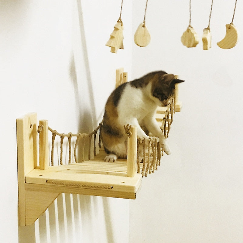 Wall Mounted Cat Bridge!  | CatToyz.com | Shop Cat Toys, Clothes, and Grooming Supplies