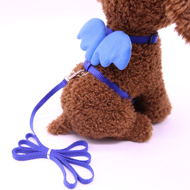 Angel Wings Harness For Cats Blue / S | CatToyz.com | Shop Cat Toys, Clothes, and Grooming Supplies