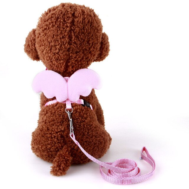 Angel Wings Harness For Cats Pink / S | CatToyz.com | Shop Cat Toys, Clothes, and Grooming Supplies
