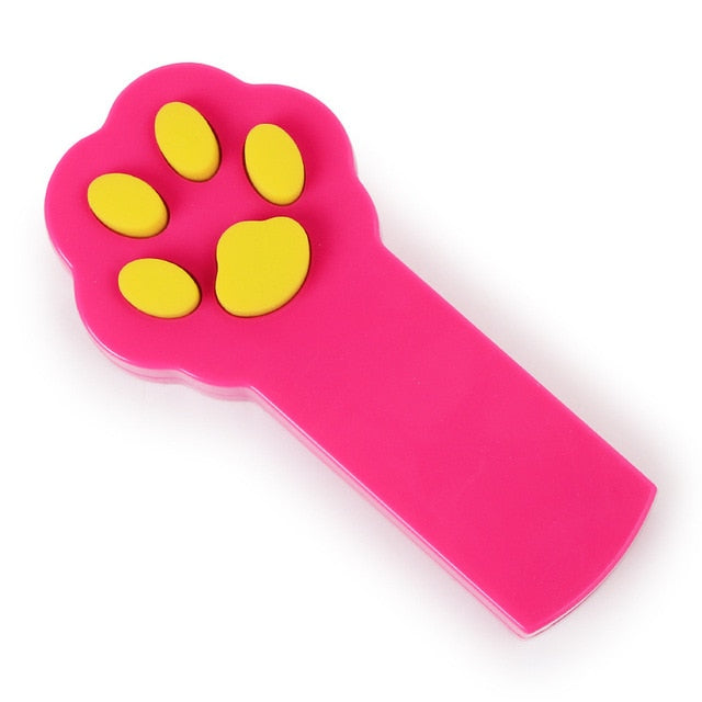 Paw Shaped LED Laser Pointer Toy For Cat Training & Play Red | CatToyz.com | Shop Cat Toys, Clothes, and Grooming Supplies