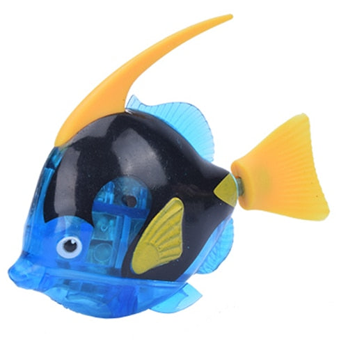 Battery-Powered Fish Cat Toy Angelfish Dark Blue | CatToyz.com | Shop Cat Toys, Clothes, and Grooming Supplies