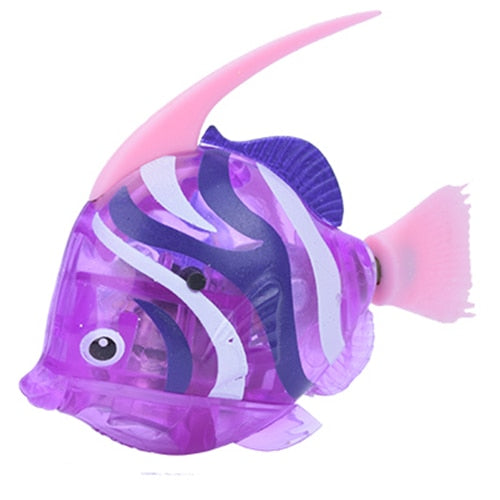 Battery-Powered Fish Cat Toy Angelfish Purple | CatToyz.com | Shop Cat Toys, Clothes, and Grooming Supplies