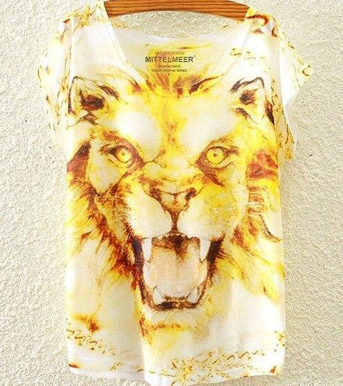 King of The Jungle T-Shirt Lion / One Size | CatToyz.com | Shop Cat Toys, Clothes, and Grooming Supplies