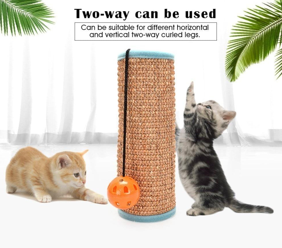 High Quality Sisal Cat Scratch Board with Ball Attached  | CatToyz.com | Shop Cat Toys, Clothes, and Grooming Supplies