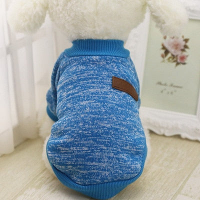 Classic Cat Sweatshirt Blue / S | CatToyz.com | Shop Cat Toys, Clothes, and Grooming Supplies