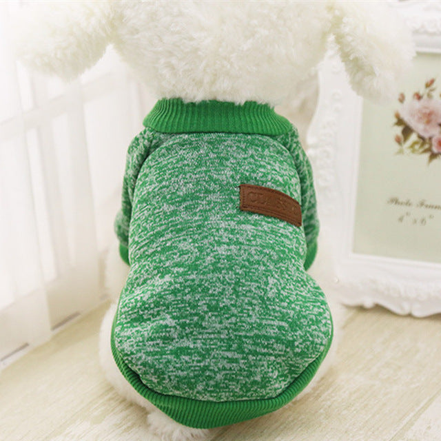 Classic Cat Sweatshirt Green / S | CatToyz.com | Shop Cat Toys, Clothes, and Grooming Supplies