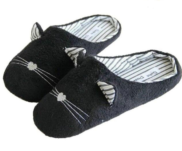 Black Cat Slippers or Sleep Mask slipper / 6 | CatToyz.com | Shop Cat Toys, Clothes, and Grooming Supplies