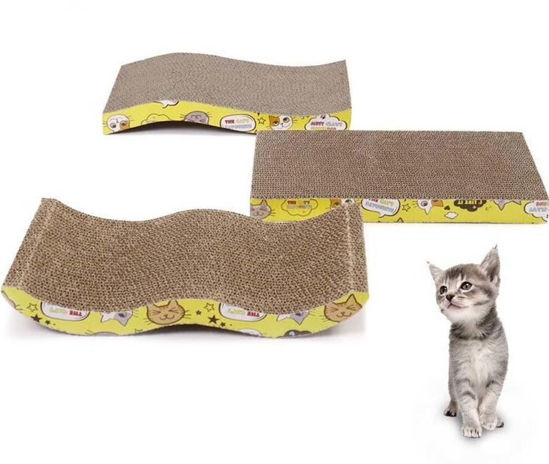Cat Scratching Board Big-size Double-sided Durable Pet Scratcher & Bed  | CatToyz.com | Shop Cat Toys, Clothes, and Grooming Supplies