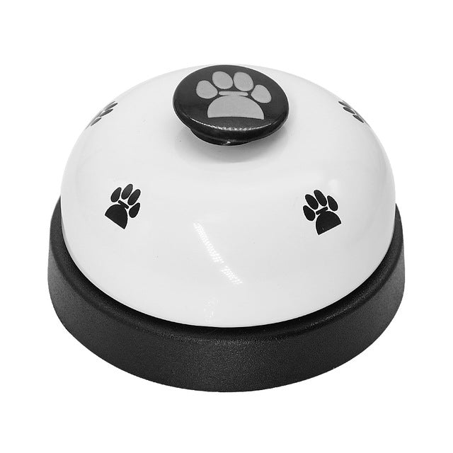 Cat Training & Feeding Bell White | CatToyz.com | Shop Cat Toys, Clothes, and Grooming Supplies