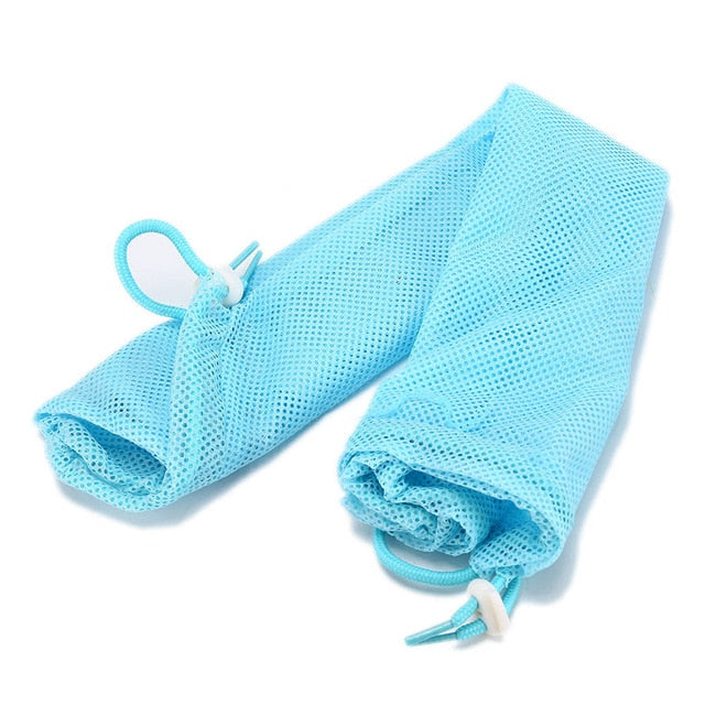 Mesh Bathing Bag for Cats Blue / M 34x52cm | CatToyz.com | Shop Cat Toys, Clothes, and Grooming Supplies