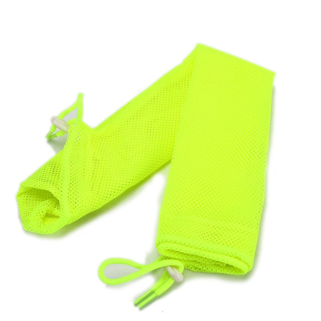 Mesh Bathing Bag for Cats Yellow / M 34x52cm | CatToyz.com | Shop Cat Toys, Clothes, and Grooming Supplies
