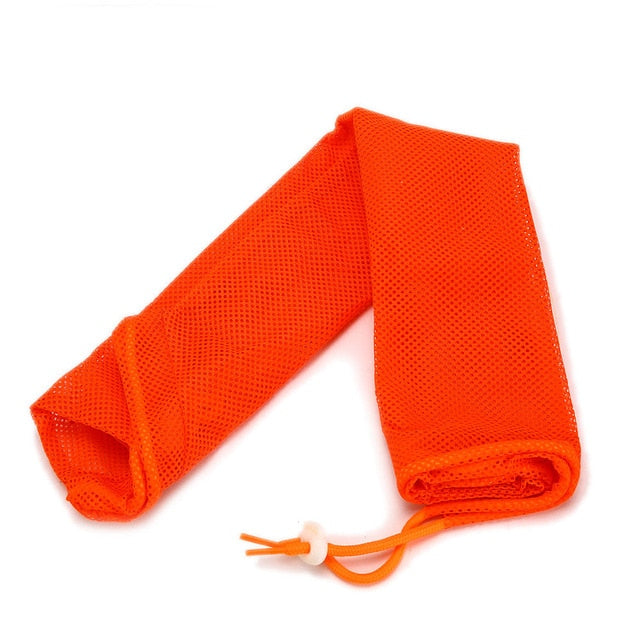 Mesh Bathing Bag for Cats Orange / M 34x52cm | CatToyz.com | Shop Cat Toys, Clothes, and Grooming Supplies