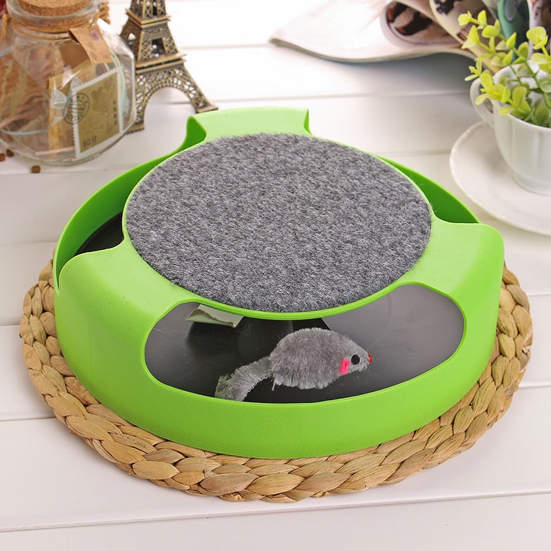 Interactive Mouse Chasing Toy! Green / M | CatToyz.com | Shop Cat Toys, Clothes, and Grooming Supplies