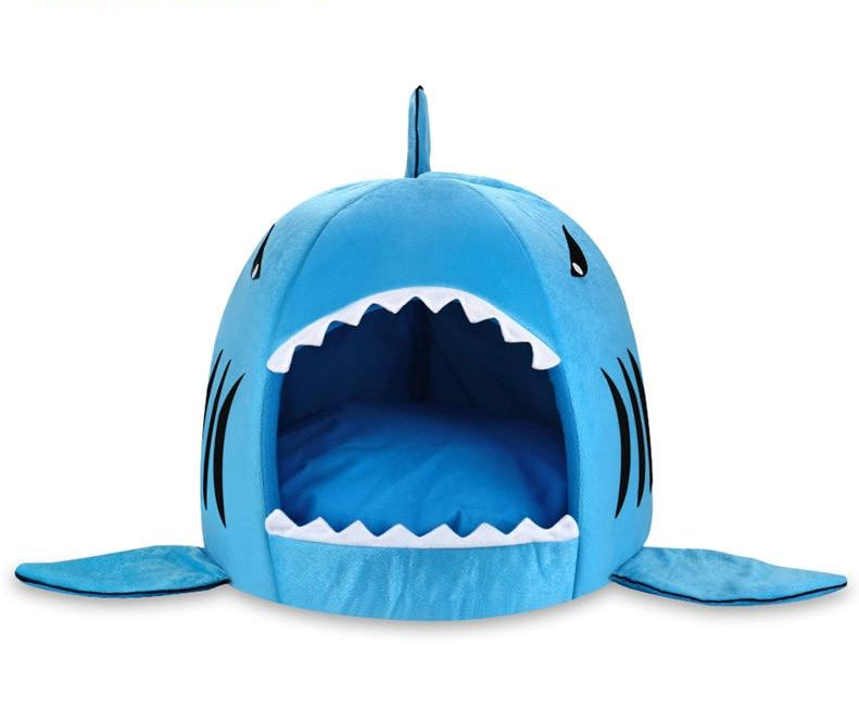 Soft Shark Bed for Cats  | CatToyz.com | Shop Cat Toys, Clothes, and Grooming Supplies