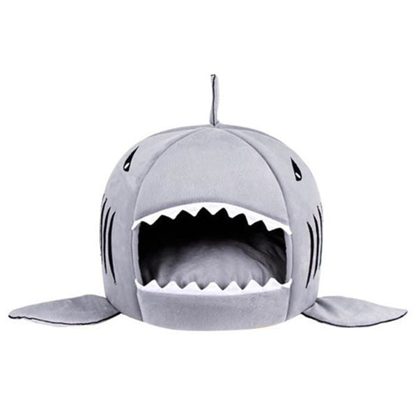 Soft Shark Bed for Cats Gray / XS | CatToyz.com | Shop Cat Toys, Clothes, and Grooming Supplies