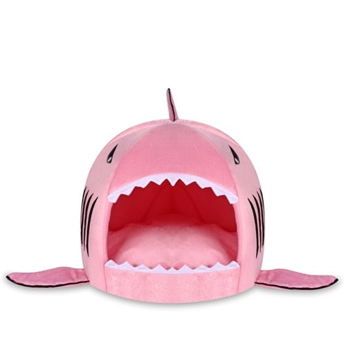 Soft Shark Bed for Cats Pink / XS | CatToyz.com | Shop Cat Toys, Clothes, and Grooming Supplies