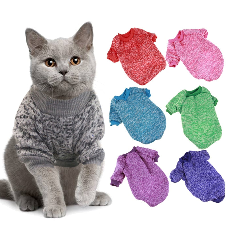 Warm Winter Pet Clothing  | CatToyz.com | Shop Cat Toys, Clothes, and Grooming Supplies