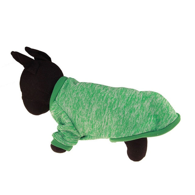 Warm Winter Pet Clothing GREEN / L | CatToyz.com | Shop Cat Toys, Clothes, and Grooming Supplies
