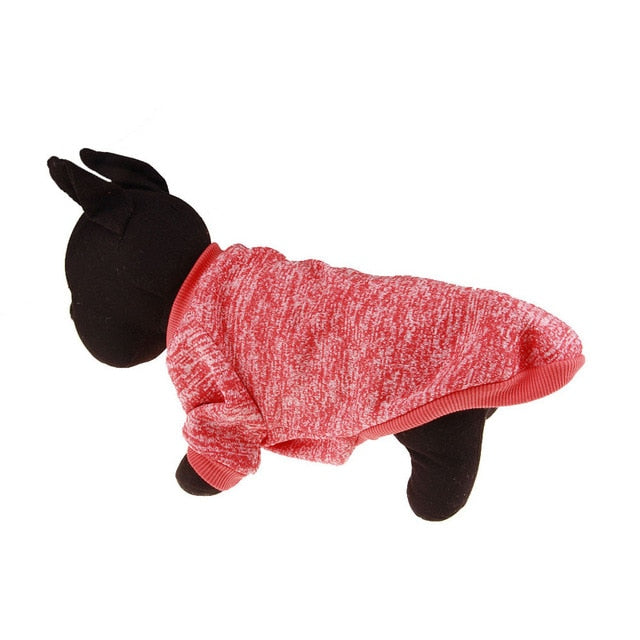 Warm Winter Pet Clothing Red / L | CatToyz.com | Shop Cat Toys, Clothes, and Grooming Supplies