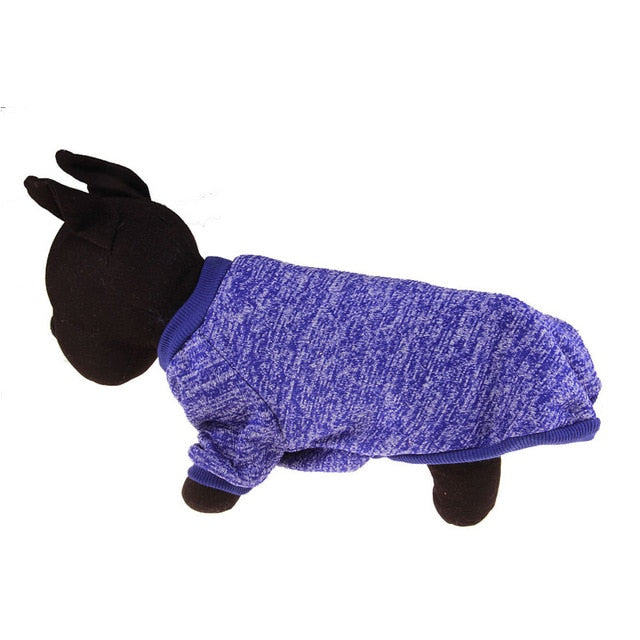 Warm Winter Pet Clothing Deep blue / L | CatToyz.com | Shop Cat Toys, Clothes, and Grooming Supplies