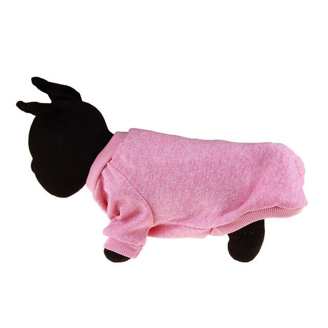 Warm Winter Pet Clothing Pink / L | CatToyz.com | Shop Cat Toys, Clothes, and Grooming Supplies
