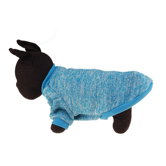 Warm Winter Pet Clothing Light blue / L | CatToyz.com | Shop Cat Toys, Clothes, and Grooming Supplies