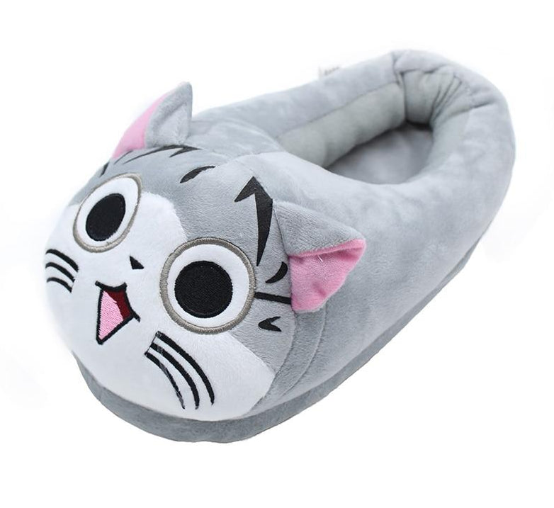 Ladies Plush Soft Cat House Slippers! Sizes 8 thru 11  | CatToyz.com | Shop Cat Toys, Clothes, and Grooming Supplies