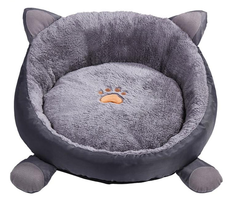 Cat Pillow with Ears, Paws and Paw Print  | CatToyz.com | Shop Cat Toys, Clothes, and Grooming Supplies