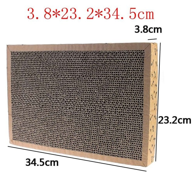 Catnip Infused Corrugated Paper Cat Scratcher LY0017 / As Pictured | CatToyz.com | Shop Cat Toys, Clothes, and Grooming Supplies