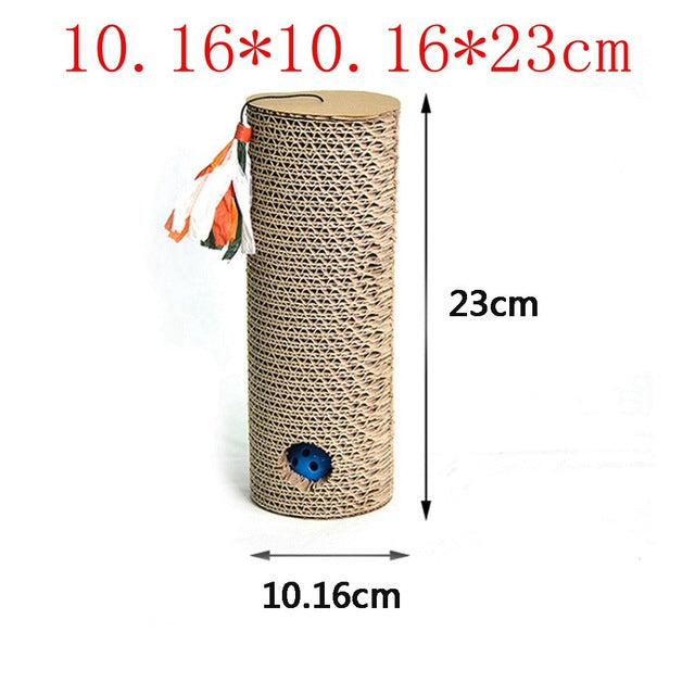 Catnip Infused Corrugated Paper Cat Scratcher LY0011 / As Pictured | CatToyz.com | Shop Cat Toys, Clothes, and Grooming Supplies