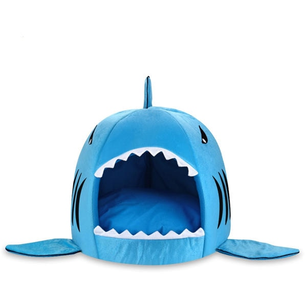 Soft Shark Bed for Cats Sky blue / XS | CatToyz.com | Shop Cat Toys, Clothes, and Grooming Supplies
