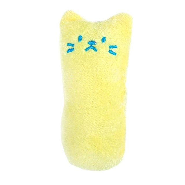 Cute Chewy Pillow Catnip Toy Light Yellow | CatToyz.com | Shop Cat Toys, Clothes, and Grooming Supplies