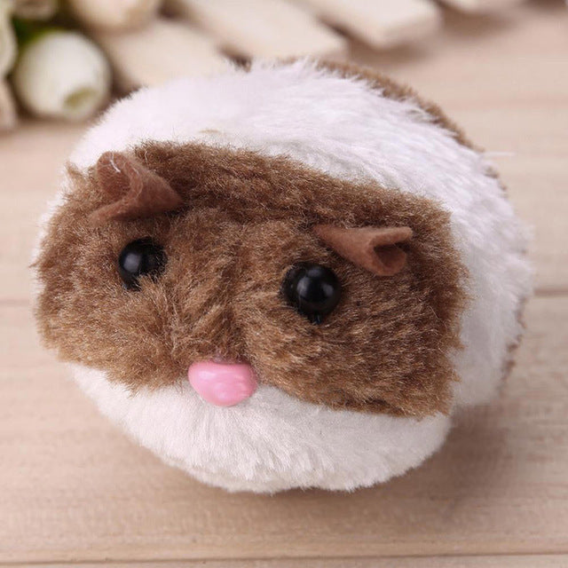 Vibrating Plush Mouse on a String Brown | CatToyz.com | Shop Cat Toys, Clothes, and Grooming Supplies