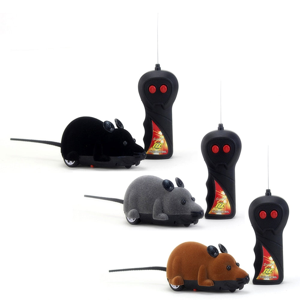 Wireless RC Mouse Toy Remote Control  | CatToyz.com | Shop Cat Toys, Clothes, and Grooming Supplies