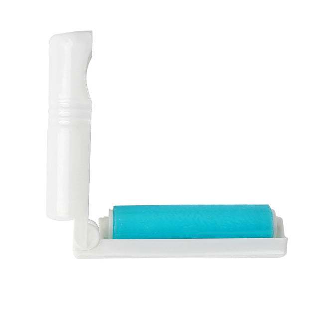 Portable Cat Hair Removal Sticky Roller Sky blue / One Size | CatToyz.com | Shop Cat Toys, Clothes, and Grooming Supplies