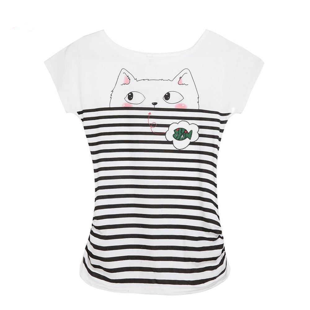 'Let's Go Fishing' Cat T-Shirts  | CatToyz.com | Shop Cat Toys, Clothes, and Grooming Supplies