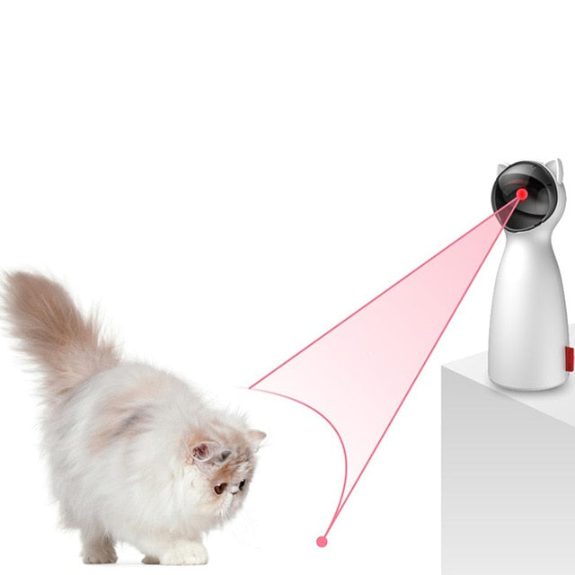 Automatic Laser Chasing Toy  | CatToyz.com | Shop Cat Toys, Clothes, and Grooming Supplies
