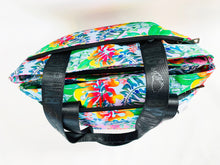 Load image into Gallery viewer, BYM BAG - THE MAUI - IN HIBISCUS BOUQUET - SRP $145