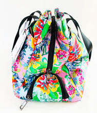 Load image into Gallery viewer, BYM BAG - THE MAUI - IN HIBISCUS BOUQUET -